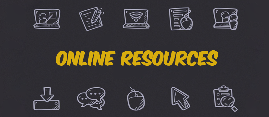 LRC-South Online Resources Banner